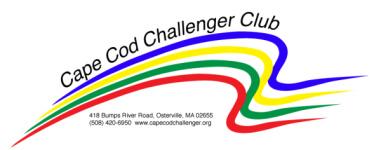 Challenger Club 5 K 2016 registration logo