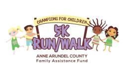 Champions for Children 5K Fun Run registration logo