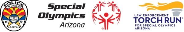 Chandler Police Donut Dash for Special Olympics registration logo