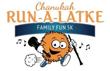 Chanukah Run-a-Latke 5K registration logo