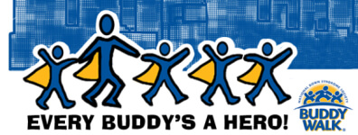 ChapTer 21 Buddy Walk and 5K registration logo