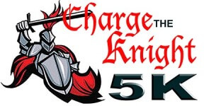 Charge the Knight 5K registration logo