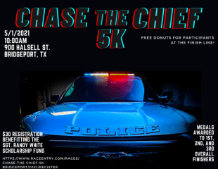 Chase the Chief 5K-Bridgeport registration logo