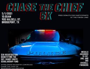 Chase the Chief 5K-Bridgeport registration logo