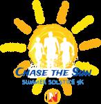 Chase The Sun Summer Solstice 5K registration logo