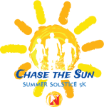 Chase The Sun Summer Solstice 5K registration logo