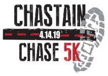 Chastain Chase 5K registration logo