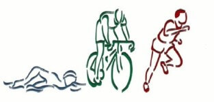 Chestnut Forks Annual Sprint Triathlon registration logo