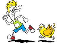 Chicken Gizzard Chase registration logo