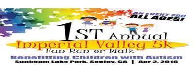 Children's Foundation of the Imperial Valley Inaugural 5k Run/Walk registration logo