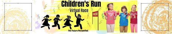 Children's Run Virtual Race registration logo