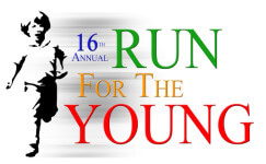Children's Square  Run For The Young registration logo