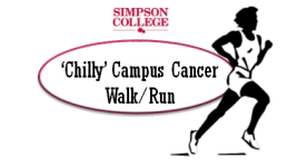 'Chilly' Campus Cancer Walk/Run registration logo