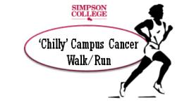 'Chilly' Campus Cancer Walk/Run registration logo