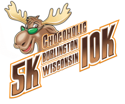 Chocoholic 5K/10K registration logo