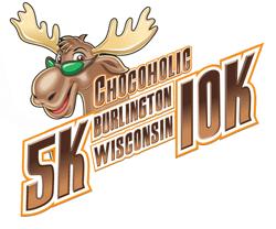 Chocoholic 5K/10K Remote Run registration logo