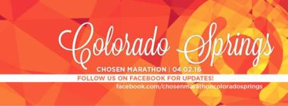 Chosen Marathon & Half Marathon registration logo