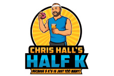 Chris Hall's Half K registration logo