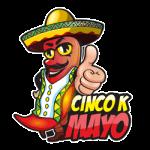 Cinco K Mayo registration logo