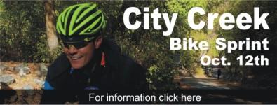 City Creek Bike Sprint registration logo
