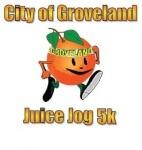 City of Groveland Juice Jog 5K registration logo