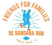 CLC's Friends for Families 5k Bandana Run registration logo