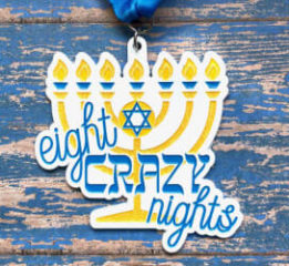 Clearance from 2019 - Eight Crazy Nights 8K registration logo