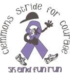 Clemmons Stride for Courage registration logo