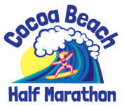 Cocoa Beach Half Marathon registration logo