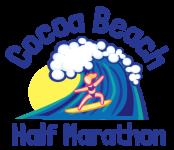 Cocoa Beach Half Marathon registration logo