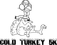 COLD TURKEY 5K registration logo