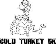 COLD TURKEY 5K registration logo