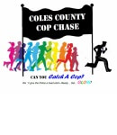 Coles County Cop Chase registration logo
