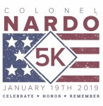 Colonel Nardo 5K registration logo