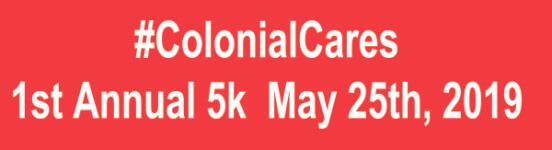 ColonialCares 1st Annual 5k registration logo