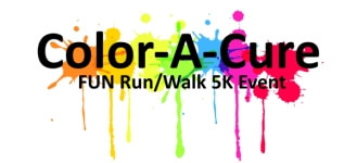 Color-A-Cure FUN Run/Walk Event registration logo