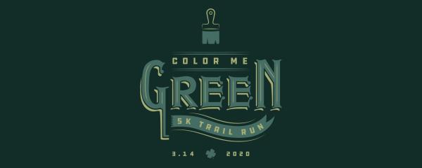 Color Me Green 5K - Charlotte registration logo