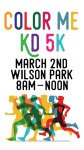Color Me KD 5k registration logo