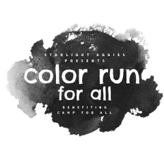 Color Run For All registration logo