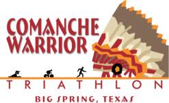 Comanche Warrior Triathlon registration logo