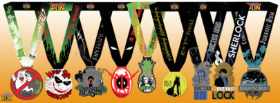 Comic Con Run registration logo