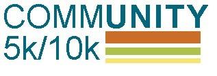 CommUNITY 5k/10k registration logo