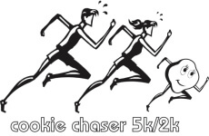 Cookie Chaser 5K/2K registration logo