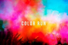 Corbett JHS Color Run  registration logo