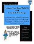 Costume Fun Run/Walk 5K and Corn Hole Challenge registration logo