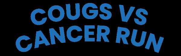 Cougs Vs Cancer Global Run registration logo