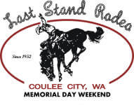 Coulee City PRCA Last Stand Rodeo registration logo