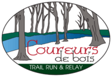 Coureurs de Bois Trail Run and Relay  registration logo
