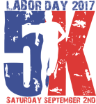 Cove Labor Day 5k clothing optional registration logo