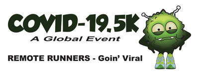 COVID-19 5K  Virtual / Remote Run registration logo